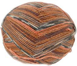 Austermann Step 4 ply sock yarn, Harlequin 251