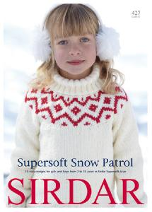 Sirdar 427, Supersoft Snow Patrol