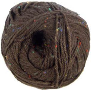 Hayfield Bonus Aran Tweed, 782, Brown Briar