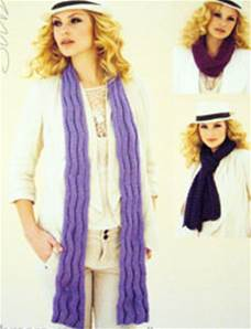 Scarves and snood Sublime 6036