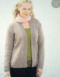 Chunky cardigan Sirdar 9757 Digital Download