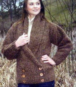 Chunky jacket Wendy 5438 digital version