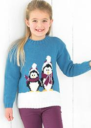 DK penguin sweater Sirdar 2420 Digital Download