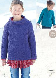 Boys and girls sweaters Sirdar 2430