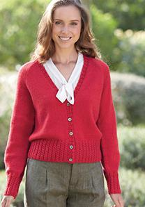 4 ply cardigan Sirdar 7044 Digital Download