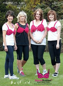 Moonwalk Breast Cancer Charity Bra Hayfield 9911