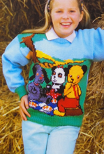 Sooty, Soo and Sweep sweater, Avon 1051