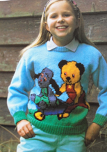 Sooty and Sweep sweater, Duet S2