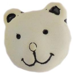 K318, Teddy bear face button size 24