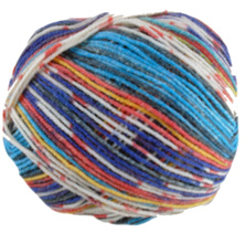 Opal 4 ply sock yarn Illusion 9311, Model