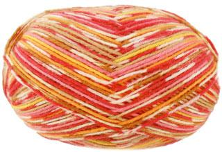 Regia Adventure 6 ply sock yarn 6083, Bonfire