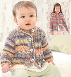 Chunky cardigans Sirdar 4792 Digital Download