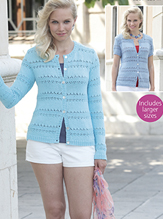 4 ply womans cardigans Sirdar 7742 Digital Download