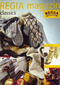 Regia Magazine 63, socks, moccasins and baby bootees