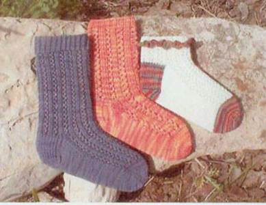 DK Savannah Socks digital download