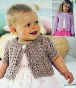 4 ply cardigan Sirdar 1325 Digital Download