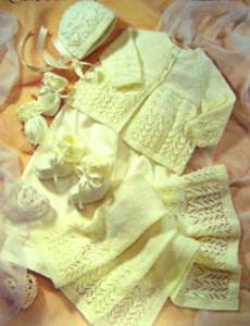 4 ply layette Sirdar 1662 Digital Download