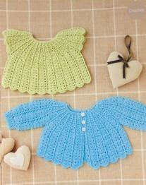 Crochet coat and top Sirdar 4510