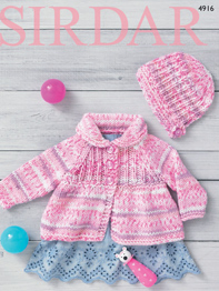 Chunky jacket and coat Sirdar 4916 PDF Digital Download