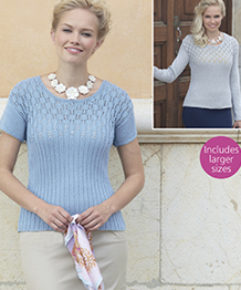 4 ply womans tops Sirdar 7743 Digital Download
