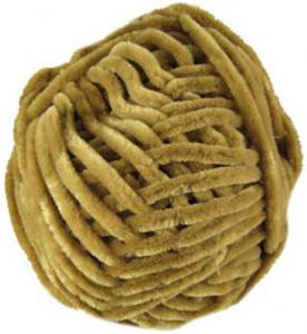 Katia Velvet superchunky chenille, 61 honey