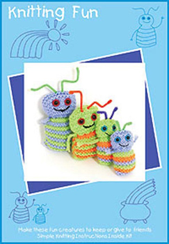 Rainbow Sprites knitting kit