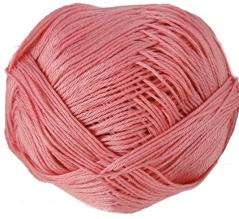 Sirdar pure Cotton 4ply 525, Sheer Coral