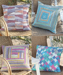 DK cushion covers Sirdar 7228, Digital Download