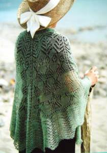 Seascape shawl Fiber Trends S2008