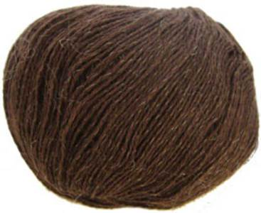 Katia Inox lace yarn, 209 chocolate
