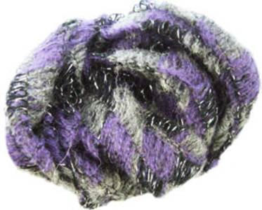 Sirdar Spellbound scarf yarn, 12 purple