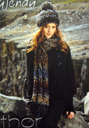 Wendy 5680 scarf and neck warmer