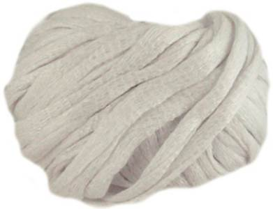 Katia Sole 50 scarf yarn, White Lustre