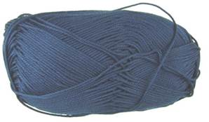 Patons 100% Cotton 4 ply 1124 Navy