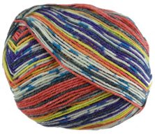 Opal 4 ply sock yarn Illusion 9314, Ballerina
