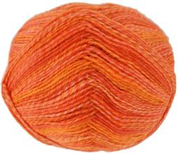 Schoppel Wolle, Ombre Orange 1566, 1880