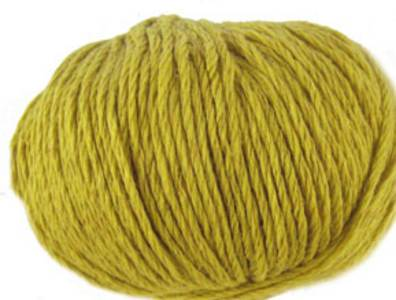 Debbie Bliss Amalfi cotton DK yarn, 7, Gold