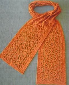 Estonian medallion scarf Fiber Trends AC86