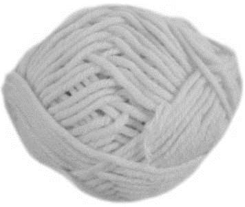 Hayfield Chunky with wool, 807, White