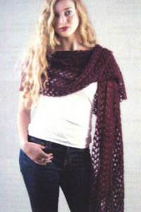 Lace starlight stole Heartstrings H64