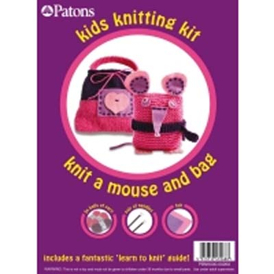 Mouse and Bag knitting kit