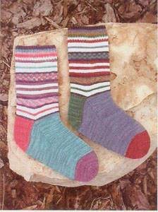 Steppin' Out Socks digital version
