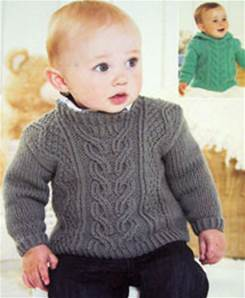 Aran sweater Sirdar 1337 Digital Download