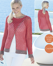 Crochet top Sirdar 7737 Digital Download