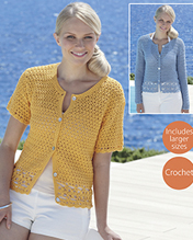 Crochet cardigans Sirdar 7740 Digital Download
