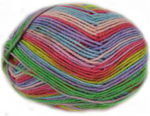 Regia Kaffe Fassett 4 ply sock yarn, 4450 Exotic Easter