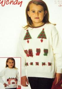 DK christmas sweater Wendy 5596, digital download