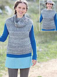 Tunic and cowl Sirdar 7103