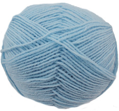 Cygnet wool rich 4ply yarn, Baby Blue, 113