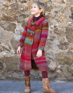 Superchunky childs coat Katia Inca 6 digital download
